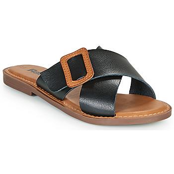 Topánky Ženy Šľapky Refresh TRAFFA Čierna