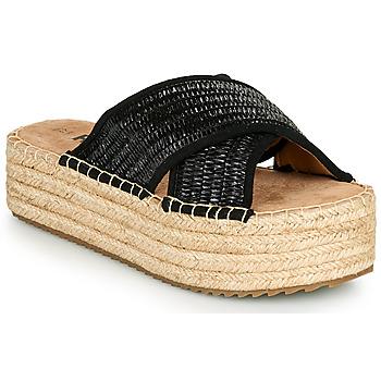 Topánky Ženy Šľapky Refresh TERRA Čierna
