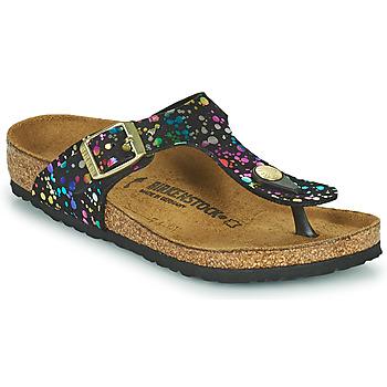 Topánky Dievčatá Žabky Birkenstock GIZEH Čierna