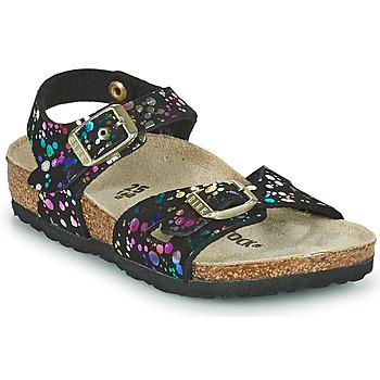 Topánky Dievčatá Sandále Birkenstock RIO Čierna / Viacfarebná