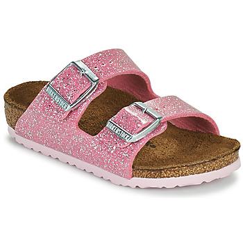 Topánky Dievčatá Šľapky Birkenstock ARIZONA Ružová