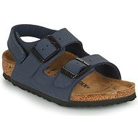 Topánky Chlapci Sandále Birkenstock MILANO HL Modrá