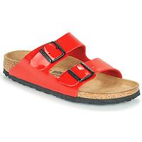 Topánky Ženy Šľapky Birkenstock ARIZONA Červená