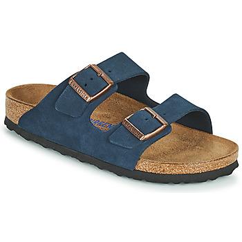 Topánky Ženy Šľapky Birkenstock ARIZONA SFB Modrá
