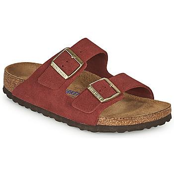 Topánky Ženy Šľapky Birkenstock ARIZONA SFB Červená