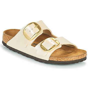 Topánky Ženy Šľapky Birkenstock ARIZONA BIG BUCKLE Biela