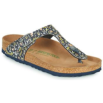 Topánky Ženy Žabky Birkenstock GIZEH Modrá