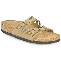Topánky Ženy Šľapky Birkenstock GRANADA SFB Kaki