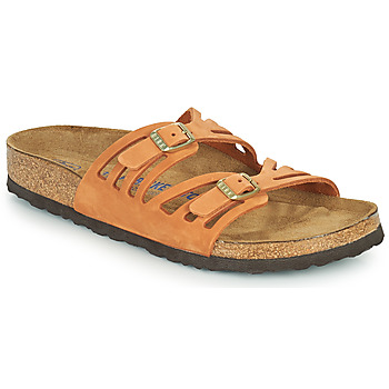 Topánky Ženy Šľapky Birkenstock GRANADA SFB Oranžová