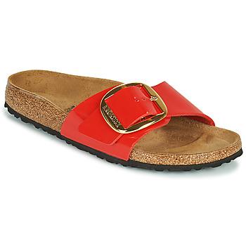 Topánky Ženy Šľapky Birkenstock MADRID BIG BUCKLE Červená