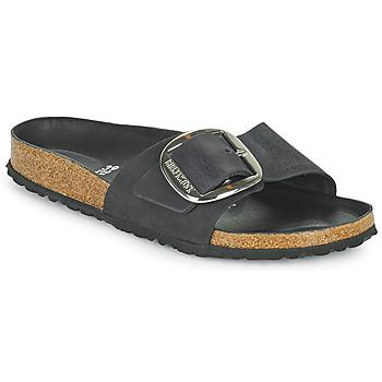 Topánky Ženy Šľapky Birkenstock MADRID BIG BUCKLE Čierna