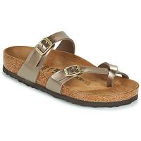 Topánky Ženy Šľapky Birkenstock MAYARI Zlatá