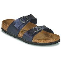Topánky Ženy Šľapky Birkenstock SYDNEY Modrá