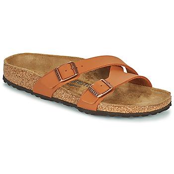 Topánky Ženy Šľapky Birkenstock YAO BALANCE Hnedá