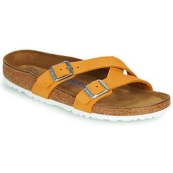 Topánky Ženy Šľapky Birkenstock YAO BALANCE SFB Oranžová