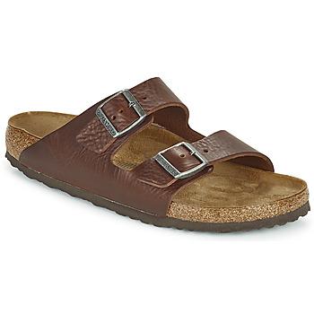 Topánky Muži Šľapky Birkenstock ARIZONA Hnedá
