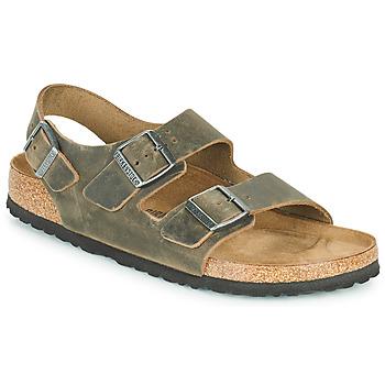 Topánky Muži Sandále Birkenstock MILANO Kaki