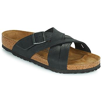 Topánky Muži Šľapky Birkenstock LUGANO Čierna
