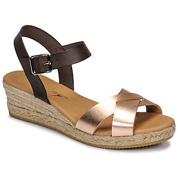 Topánky Ženy Sandále Betty London GIORGIA Hnedá / Svetlá telová