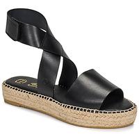 Topánky Ženy Sandále Betty London EBALUIE Čierna