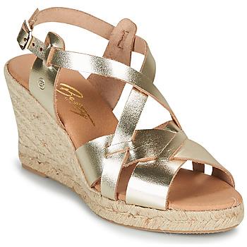 Topánky Ženy Sandále Betty London OSAVER Zlatá