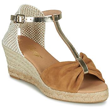 Topánky Ženy Sandále Betty London OREINOA Ťavia hnedá