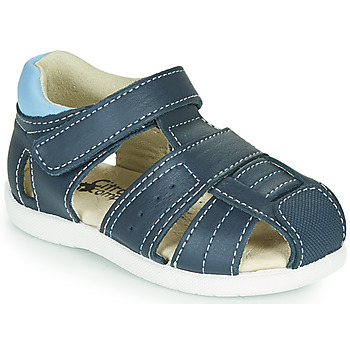 Topánky Chlapci Sandále Citrouille et Compagnie OLISS Modrá
