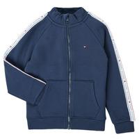 Oblečenie Chlapci Mikiny Tommy Hilfiger  Námornícka modrá