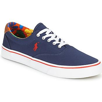 Topánky Muži Nízke tenisky Polo Ralph Lauren THORTON-SNEAKERS-VULC Námornícka modrá