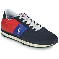 Topánky Muži Nízke tenisky Polo Ralph Lauren TRAIN 85-SNEAKERS-ATHLETIC SHOE Námornícka modrá / Červená