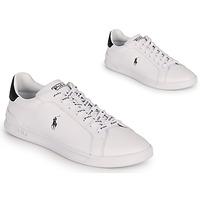 Topánky Nízke tenisky Polo Ralph Lauren HRT CT II-SNEAKERS-ATHLETIC SHOE Biela / Čierna