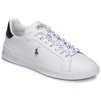 Topánky Muži Nízke tenisky Polo Ralph Lauren HRT CT II-SNEAKERS-ATHLETIC SHOE Biela / Námornícka modrá