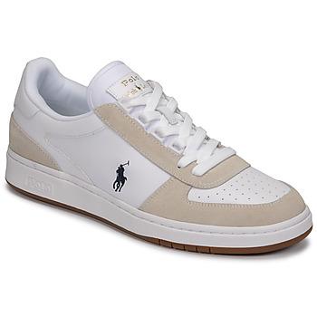 Topánky Muži Nízke tenisky Polo Ralph Lauren POLO CRT PP-SNEAKERS-ATHLETIC SHOE Biela