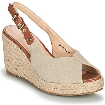 Topánky Ženy Sandále Vanessa Wu SD2238BG Béžová / Hnedá