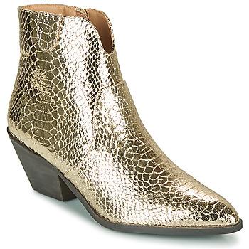 Topánky Ženy Čižmičky Vanessa Wu MINNA Zlatá