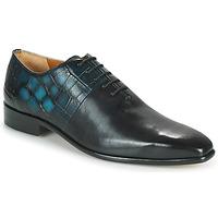 Topánky Muži Richelieu Melvin & Hamilton LANCE 61 Čierna / Modrá