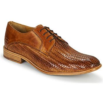 Topánky Muži Richelieu Melvin & Hamilton EDDY 8 Hnedá