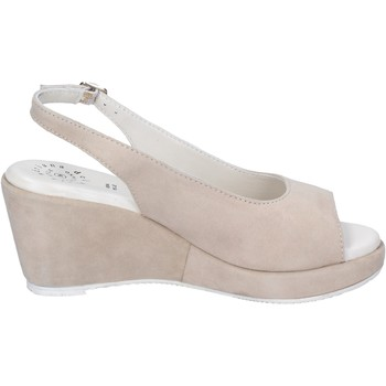 Topánky Ženy Sandále Adriana Del Nista Sandali Camoscio Beige