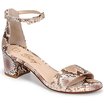 Topánky Ženy Sandále Betty London INNAMATA Hnedošedá