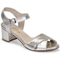 Topánky Ženy Sandále Betty London OSKAIDI Strieborná