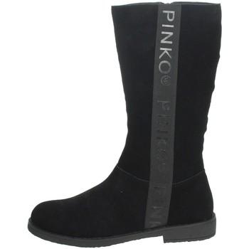 Topánky Dievčatá Čižmy do mesta Pinko Up 025278 Black