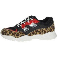 Topánky Dievčatá Nízke tenisky Pinko Up 025305 Black/Beige