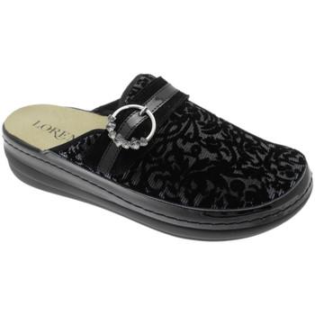 Topánky Ženy Šľapky Calzaturificio Loren LOB5023ne nero