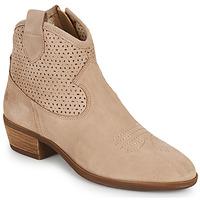 Topánky Ženy Polokozačky Betty London OGEMMA Béžová
