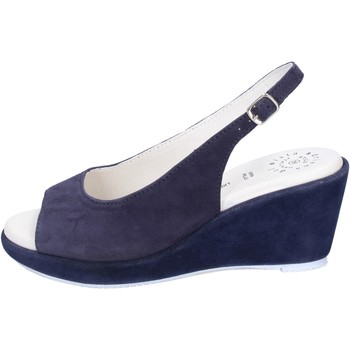 Topánky Ženy Sandále Adriana Del Nista Sandali Camoscio Blu