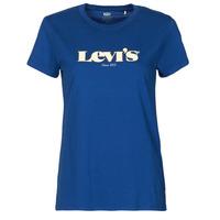 Oblečenie Ženy Tričká s krátkym rukávom Levi's THE PERFECT TEE Modrá