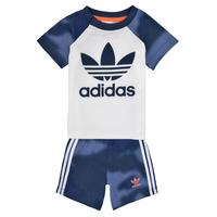 Oblečenie Chlapci Komplety a súpravy adidas Originals GN4110 Biela