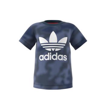 Oblečenie Chlapci Tričká s krátkym rukávom adidas Originals GN4116 Modrá
