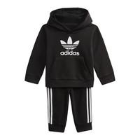 Oblečenie Deti Mikiny adidas Originals DV2809 Čierna