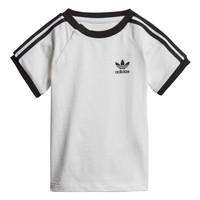 Oblečenie Deti Tričká s krátkym rukávom adidas Originals DV2824 Biela
